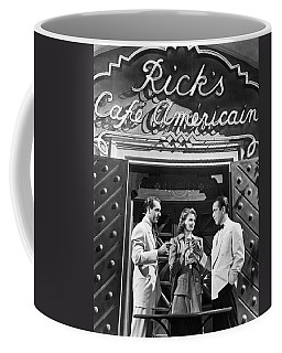 On The Casablanca Set Coffee Mug