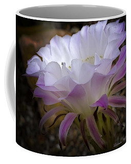 Coffee Mug featuring the photograph On The Edge by Lucinda Walter