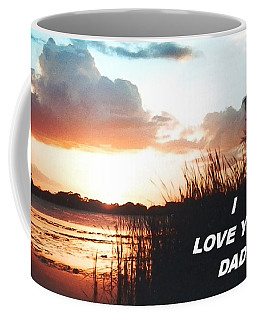 Lake Deer At Sunrise Coffee Mug
