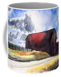 On The Macon Road. - Saline Michigan Coffee Mug by Yoshiko Mishina