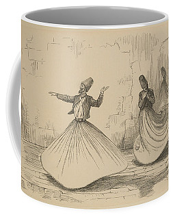 On The Nile - Shebook In The Cabin - Whirling Dervish Coffee Mug