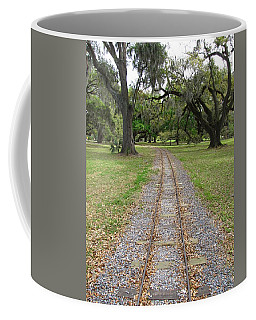 Coffee Mug featuring the photograph On The Right Track by Beth Vincent