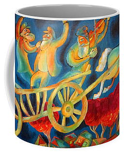 On The Road To Rebbe Coffee Mug