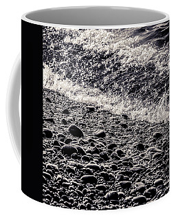 On The Rocks  French Beach Square Coffee Mug