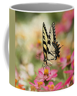On The Top - Swallowtail Butterfly Coffee Mug