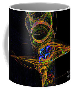 Coffee Mug featuring the digital art On The Way To Oz by Victoria Harrington