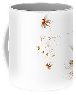 Coffee Mug featuring the digital art On The Wind by GJ Blackman