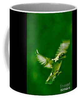 On The Wings Of A Bird Coffee Mug