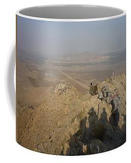 On Top Of A Mountain Coffee Mug