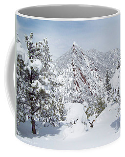 On Top Of Bear Peak Snow Mountain  Coffee Mug