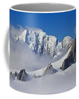 On Top Of The World Coffee Mug by Venetia Featherstone-Witty