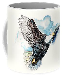 On Wings As Eagles Coffee Mug