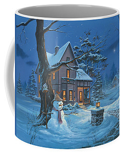 Once Upon A Winter's Night Coffee Mug by Michael Humphries