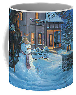 Once Upon A Winter's Night Coffee Mug