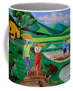 One Beautiful Morning In The Farm Coffee Mug
