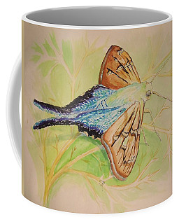 One Day In A Long-tailed Skipper Moth's Life Coffee Mug