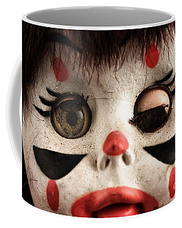 One Eye Shut Coffee Mug