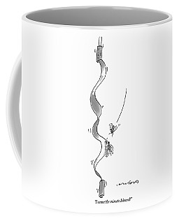 One Fly Rushes To The Aid Of Another Coffee Mug