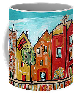 One House Has A Screen Door Coffee Mug by Mary Carol Williams