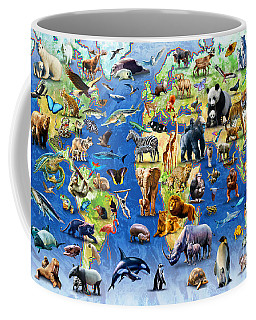 One Hundred Endangered Species Coffee Mug