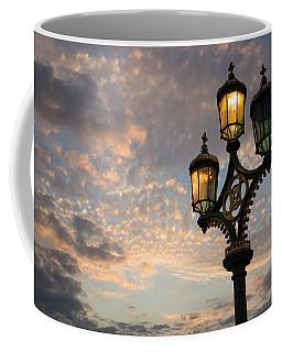 One Light Out - Westminster Bridge Streetlights - River Thames In London Uk Coffee Mug