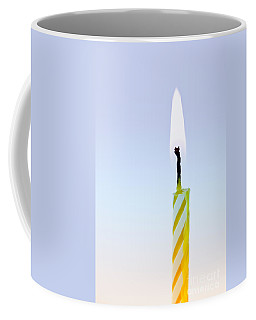 One Lit Candle Coffee Mug
