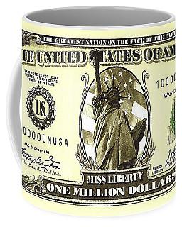 One Million Dollar Bill Coffee Mug