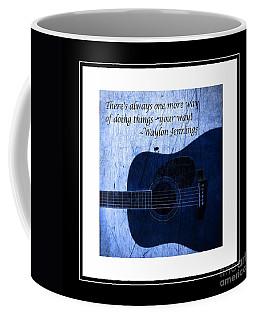 One More Way - Waylon Jennings Coffee Mug