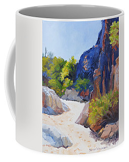 One Morning At Honey Bee Canyon Coffee Mug