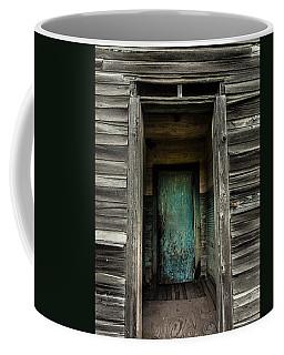 One Room Schoolhouse Door - Damascus - Pennsylvania Coffee Mug