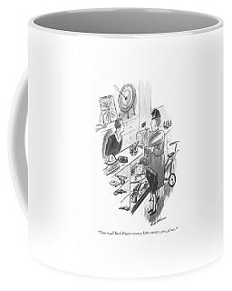 One Small Buck Rogers Twenty-?fth-century Gun Coffee Mug
