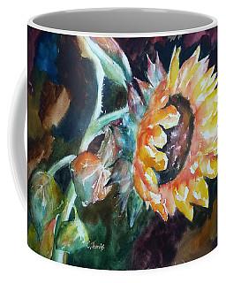 One Sunflower Coffee Mug