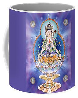 Oneness Avalokitesvara  Coffee Mug by Lanjee Chee