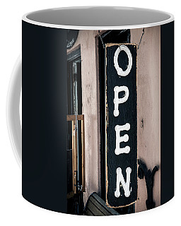 Coffee Mug featuring the photograph Open For Business by Sennie Pierson
