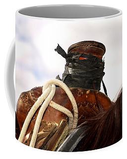 Open Range Saddle Coffee Mug