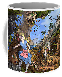 Coffee Mug featuring the painting Open Sesame by Reynold Jay