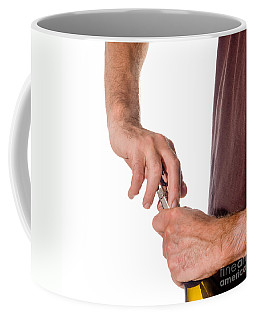 Opening Wine Q Coffee Mug