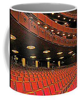Opera House Auditorium In John F Kennedy Center For The Performing Arts-washington Dc  Coffee Mug