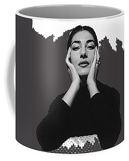 Opera Singer Maria Callas Cecil Beaton Photo No Date-2010 Coffee Mug