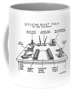 Operation Desert Storm The Desk Accessories Coffee Mug