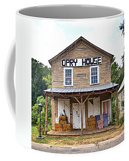 Coffee Mug featuring the photograph Opry House - Square by Gordon Elwell