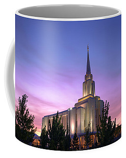 Oquirrh Mountain Temple Iv Coffee Mug