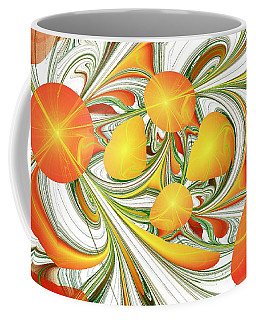 Orange Attitude Coffee Mug