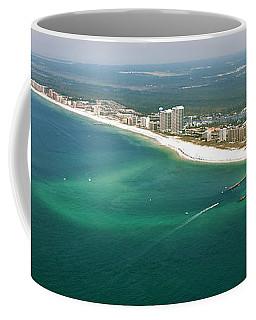 Looking N W Across Perdio Pass To Gulf Shores Coffee Mug