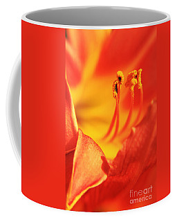Orange Blooming Coffee Mug