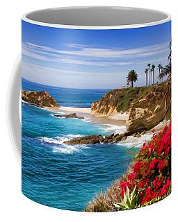 Orange County Coastline Coffee Mug