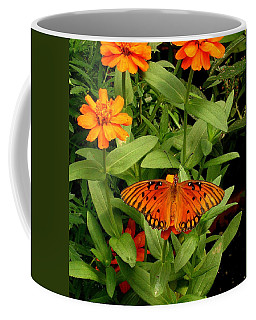 Orange Creatures Coffee Mug