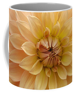 Orange Dahlia Closeup Coffee Mug