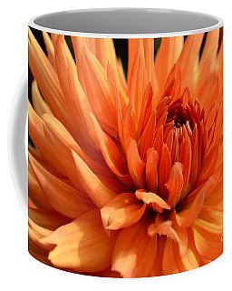 Orange Dahlia Coffee Mug