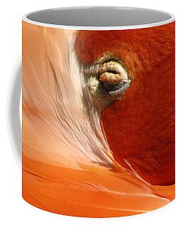 Flamingo Orange Eye Coffee Mug